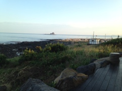 By Sagye beach, Jeju. Possibly the closest beach to our home in the Global Education City.
