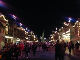 From further away - Main Street USA