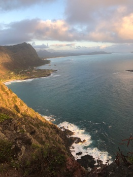 The view from the Makapu'u viewpoint.