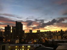 From our lanai - sometime between 6:00 and 6:30am.